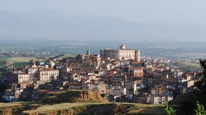 O maravilhoso castelo de Corigliano