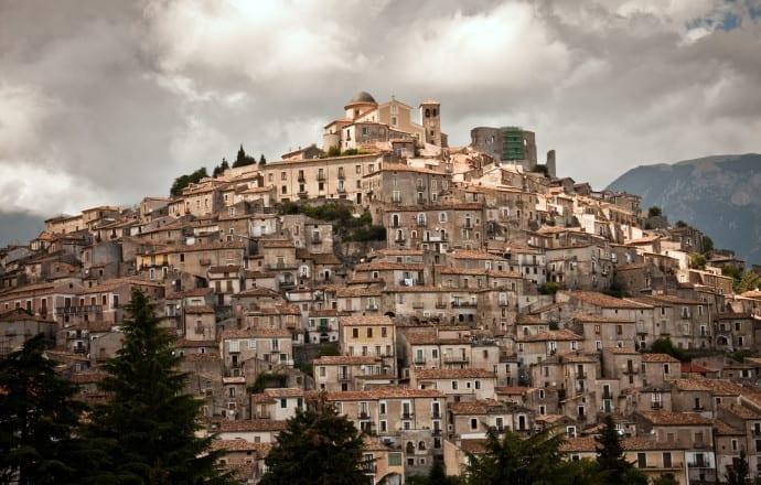 Italy, Calabria, Morano Calabro