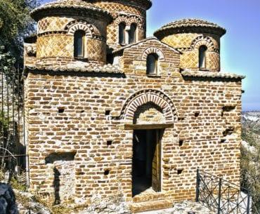 Stilo e a famosa Católica, jóia da arte e da arquitetura bizantina