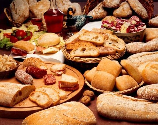 pane affettato e salamini