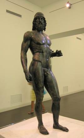 Bronze de riace, Reggio