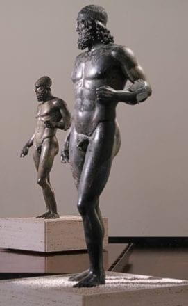 Bronzes de Riace Museu de Reggio Calabria