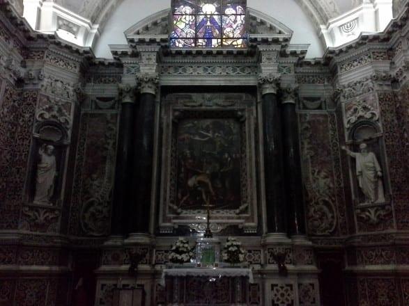Imagem da Capela do Santíssimo Sacramento.