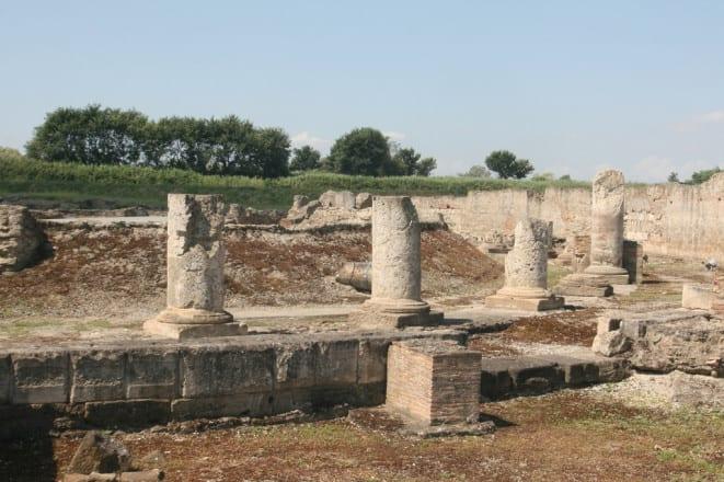 Parque arqueológico de Sibari