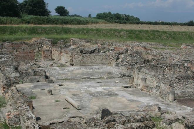Escavos arqueológico de Sibari