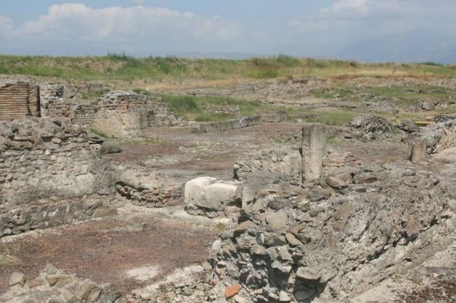 scavos arqueológico de Sibari