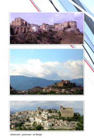 Burgo. Altomonte. Fonte Comune di Altomonte