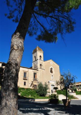 Complesso monastico di San Francesco di Paola. Altomonte. Fonte Comune di Altomonte