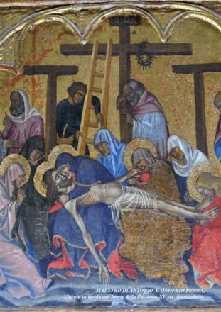Maestro di Antonio e Onofrio Penna, Altarolo della Passione, XV secolo. Museo Civico di Altomonte. Altomonte. Fonte Comune di Altomonte