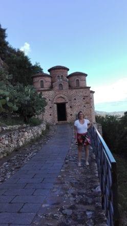 Católica de Stilo - Foto com a cliente Natalia