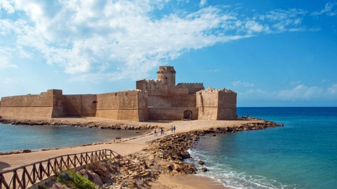 Le Castella from Calabria-Italy
