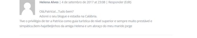 depoimento da Helena Alves