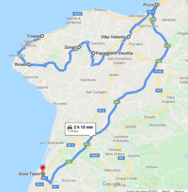 O que visitar perto de Tropea?
