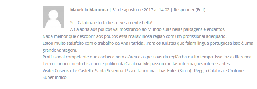 Depoimento do Mauricio