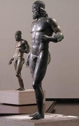 O que são os Bronzes de Riace?