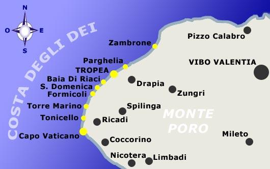 Vamos conhecer Capo Vaticano na Calábria?