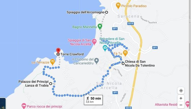 Mapa- San Nicola