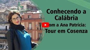 Viajando para a Calabria - widget video Youtube - Conhecendo a Calabria
